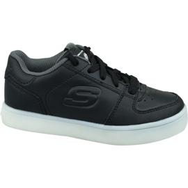 Skechers Energy Lights Jr 90601L-BLK kengät musta