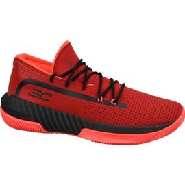 Under Armour Armor Sc 3Zero Iii M 3022048-601 -kengät punainen punainen