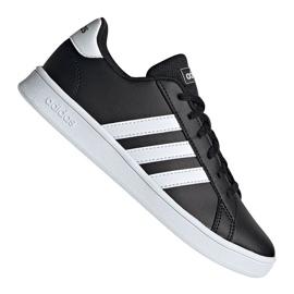Adidas Grand Court Jr EF0102 kengät musta