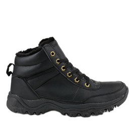 Mustat eristetyt kengät GT-9578-1
