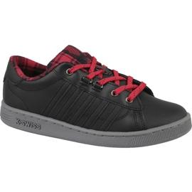 K-Swiss Hoke Plaid Jr 85111-050 kengät musta