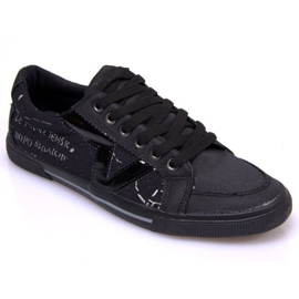 Materiaali Sneakers A961 Musta