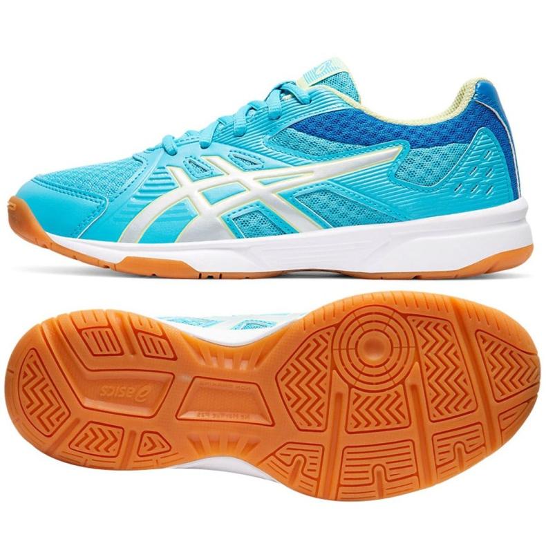 Asics Upcourt 3 Gs Jr 1074A005-400 kengät sininen sininen