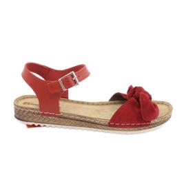 Comfort Inblu naisten kengät 158D117 punainen