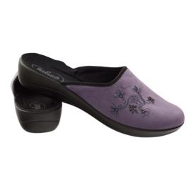 Befado naisten kengät tossut 552D006 violetti monivärinen 3