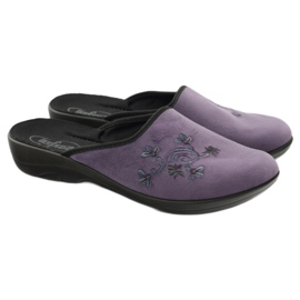 Befado naisten kengät tossut 552D006 violetti monivärinen 4