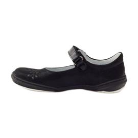 Ballerinas-tyttöjen kengät Ren But 4351 musta 2