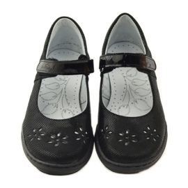 Ballerinas-tyttöjen kengät Ren But 4351 musta 4