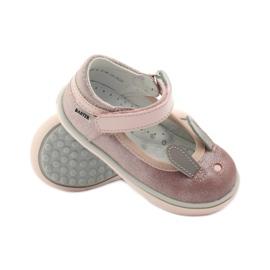 Ballerinki-pupu kanin Bartek 31908 vaaleanpunainen brokaatti pinkki 3