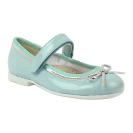 American Club Ballerinas-kengät, joissa on amerikkalainen keula vihreä 1