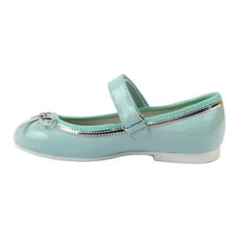 American Club Ballerinas-kengät, joissa on amerikkalainen keula vihreä 2