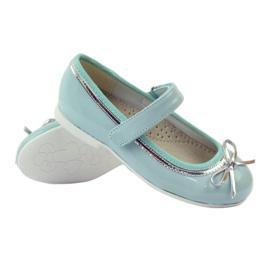 American Club Ballerinas-kengät, joissa on amerikkalainen keula vihreä 3