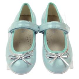 American Club Ballerinas-kengät, joissa on amerikkalainen keula vihreä 4