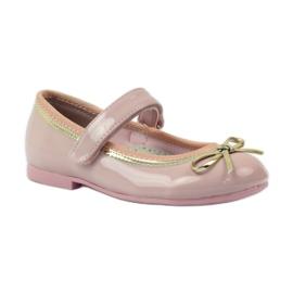 American Club Ballerinas-kengät, joissa on amerikkalainen keula pinkki 1