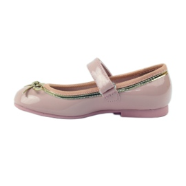 American Club Ballerinas-kengät, joissa on amerikkalainen keula pinkki 2