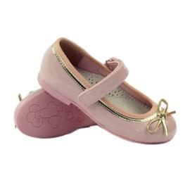 American Club Ballerinas-kengät, joissa on amerikkalainen keula pinkki 3