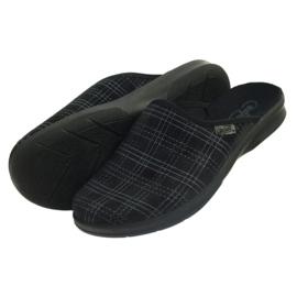 Befado miesten kengät tossut 548m011 tossut musta 4