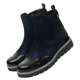 Ren But Lämmin saappaat Ren Boot 4379 tummansininen 4