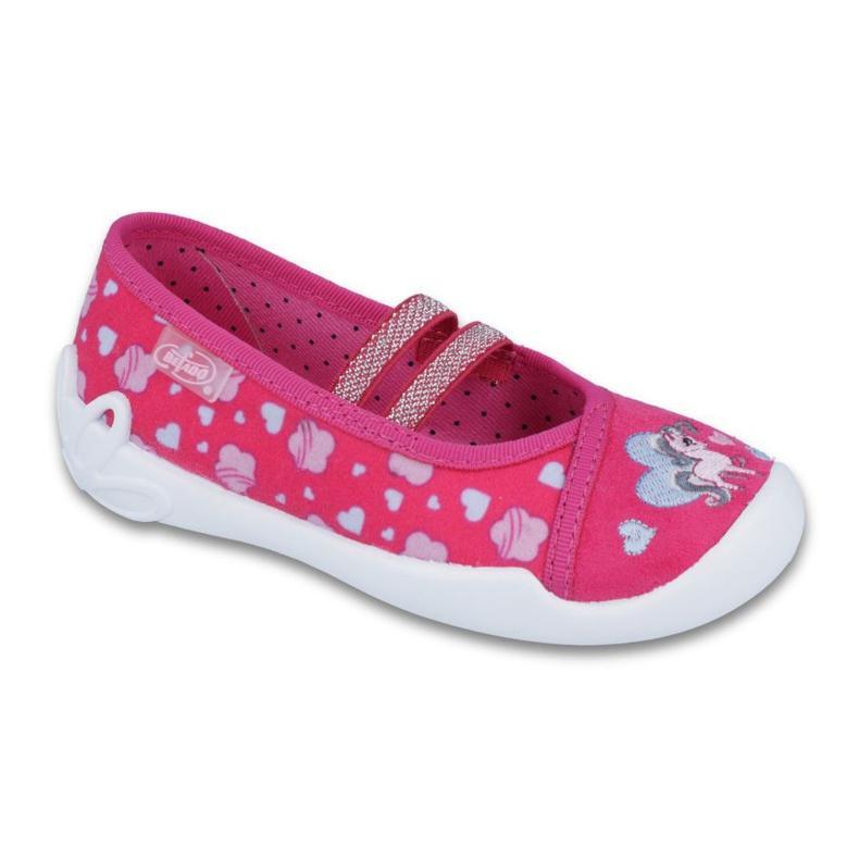 Pinkki Befado lasten kengät 116X237 kuva 1
