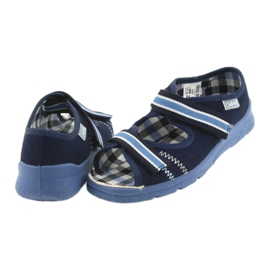 Sandaalit lasten kengät Velcro Befado 969x101 tummansininen 5