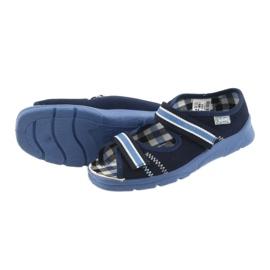 Sandaalit lasten kengät Velcro Befado 969x101 tummansininen 4