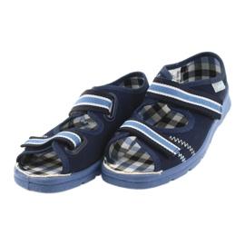 Sandaalit lasten kengät Velcro Befado 969x101 tummansininen 3