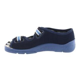 Sandaalit lasten kengät Velcro Befado 969x101 tummansininen 2