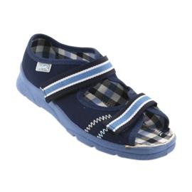 Sandaalit lasten kengät Velcro Befado 969x101 tummansininen 1