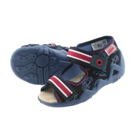 Befado keltainen lasten kengät 350P003 laivasto 6