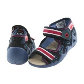 Befado keltainen lasten kengät 350P003 laivasto 5