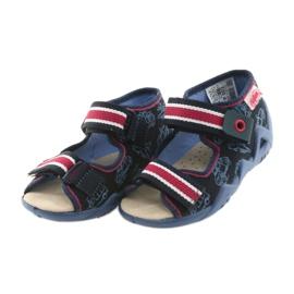 Befado keltainen lasten kengät 350P003 laivasto 4