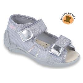 Befado keltainen lasten kengät 342P002 harmaa 1