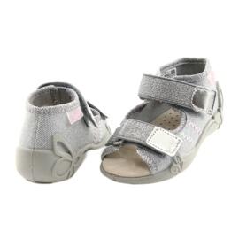 Befado keltainen lasten kengät 342P002 harmaa 5