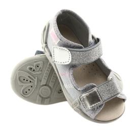 Befado keltainen lasten kengät 342P002 harmaa 4