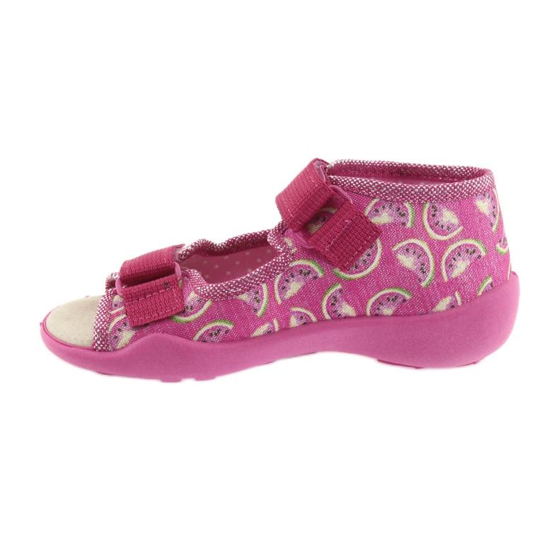 Pinkki Befado keltainen lasten kengät 342P004 kuva 3