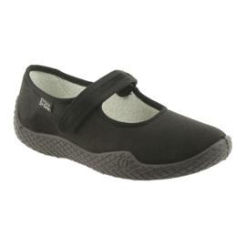 Befado naisten kengät pu - young 197D002 musta 2