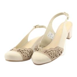 Gregors 771 beige naisten sandaalit ruskea 3
