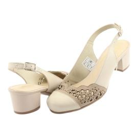 Gregors 771 beige naisten sandaalit ruskea 4