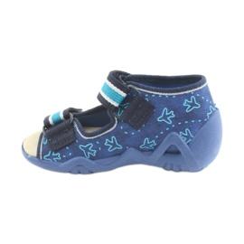 Befado keltainen lasten kengät 350P004 3