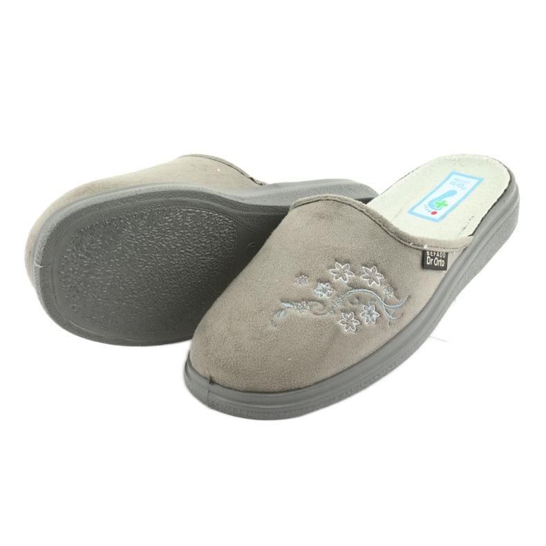 Harmaa Befado naisten kengät pu 132D013 kuva 4