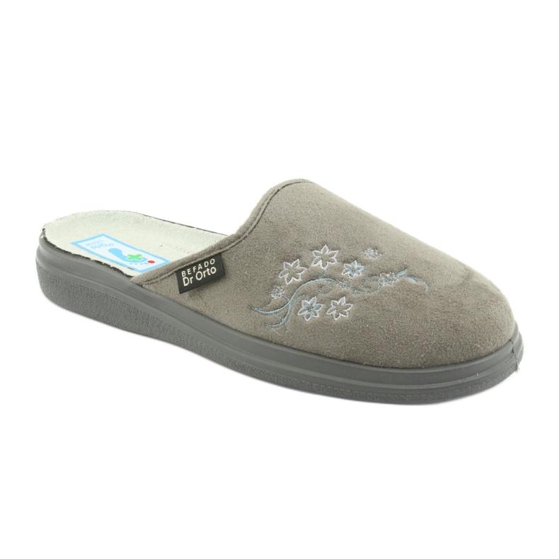 Harmaa Befado naisten kengät pu 132D013 kuva 1