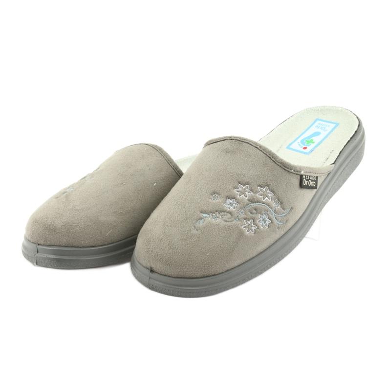 Harmaa Befado naisten kengät pu 132D013 kuva 3