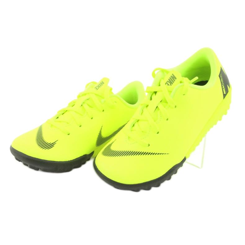 Nike Mercurial VaporX 12 Academy Tf Jr AH7353-701 Jalkapallokengät kuva 3