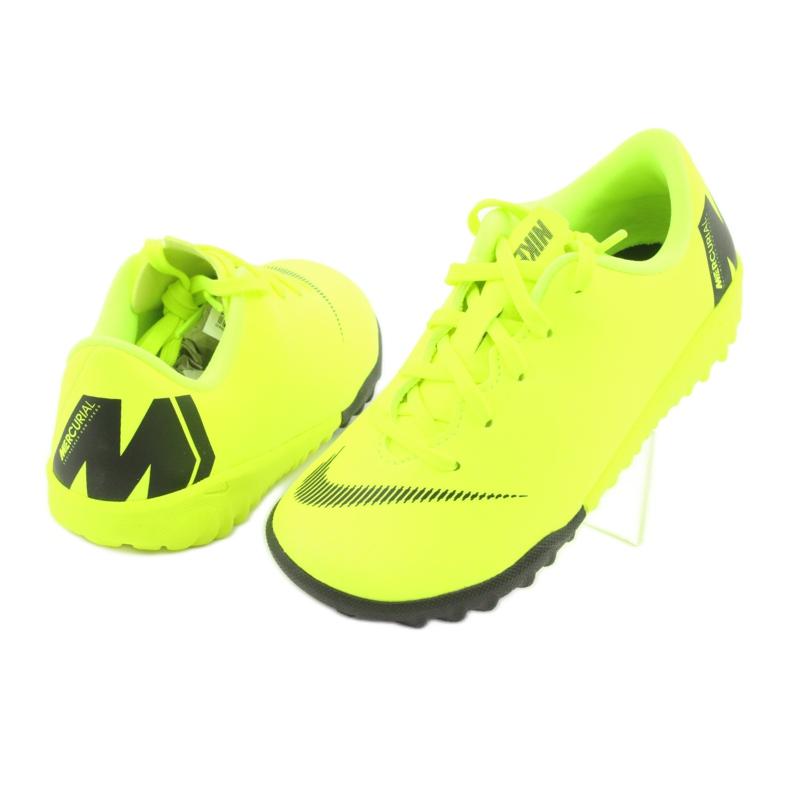 Nike Mercurial VaporX 12 Academy Tf Jr AH7353-701 Jalkapallokengät kuva 4
