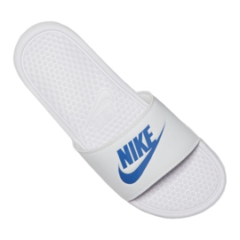 Tossut Nike Benassi Jdi Slide 343880-102 valkoinen 5