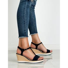 Anesia Paris Vaalean laivastonsiniset sandaalit sininen 1