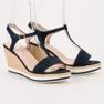 Anesia Paris Vaalean laivastonsiniset sandaalit sininen 2