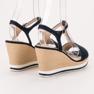 Anesia Paris Vaalean laivastonsiniset sandaalit sininen 3