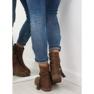 Ruskeat naisten kengät 4169 Khaki kuva 4