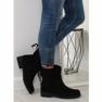 Musta naisten kengät 7378-PA Musta kuva 1